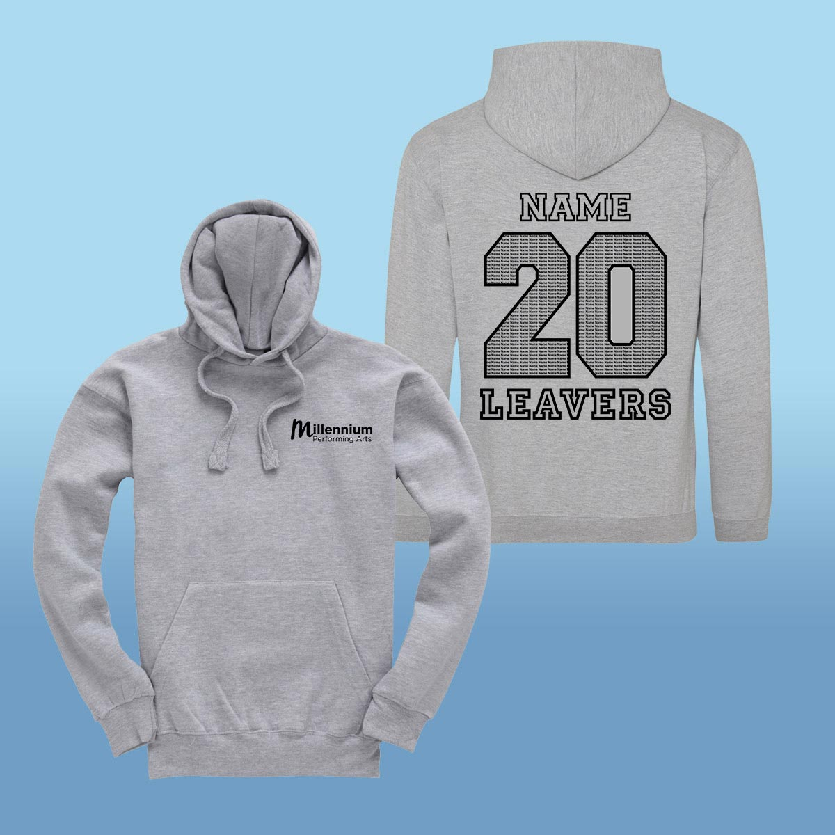 Millennium Performing Arts Leavers Hoodies