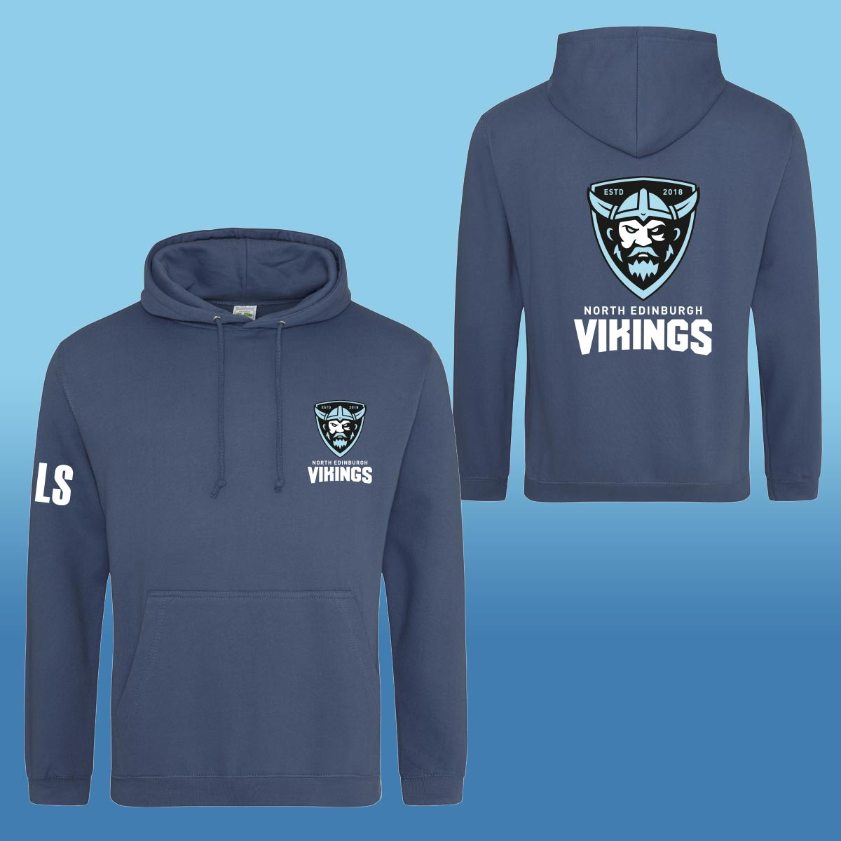 North Edinburgh Vikings Hoodies