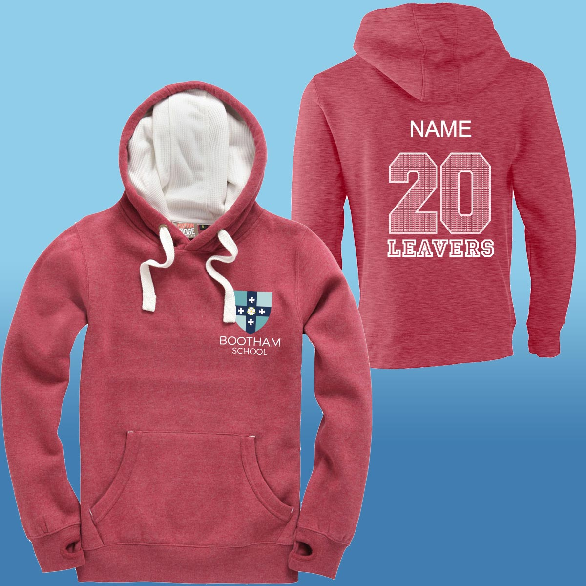Bootham Junior School Leavers Hoodies