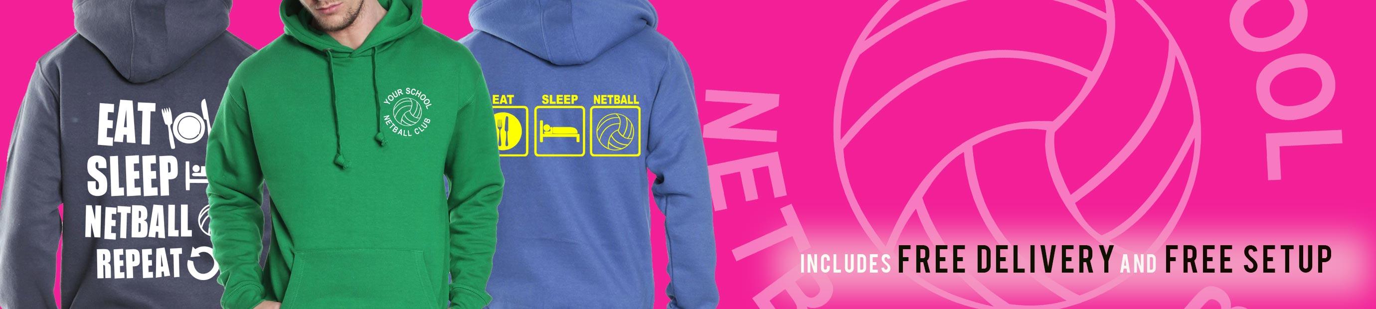 Netball Trip Hoodies from Superlogo
