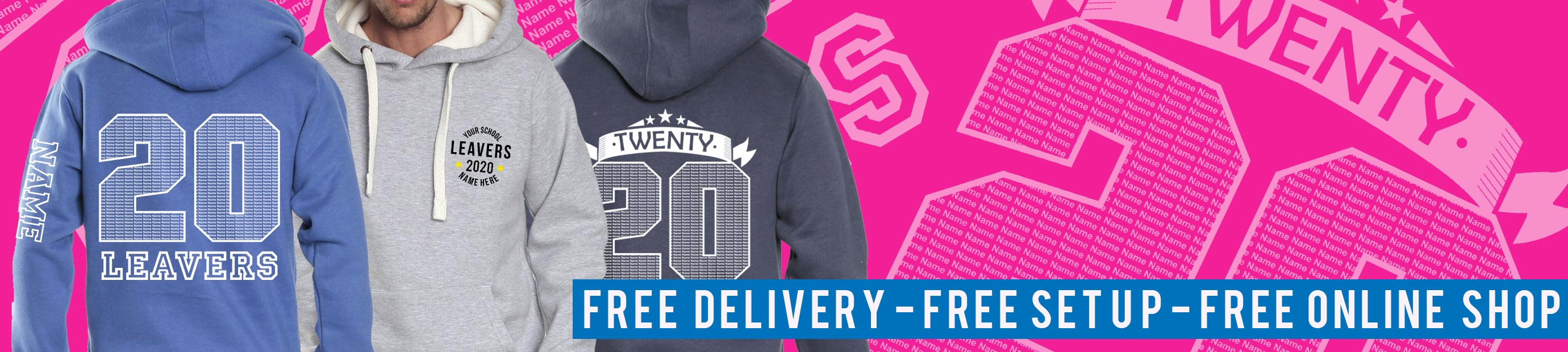 Primary Leavers Hoodies from Superlogo