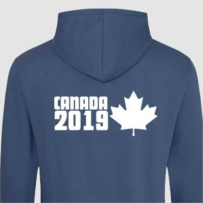 Canada Trip Hoodies